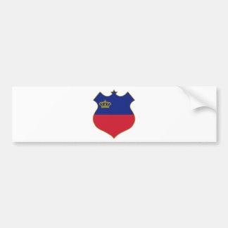 Liechtenstein-shield.png Bumper Sticker