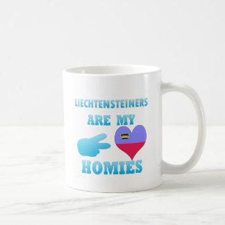 Liechtensteiners are my Homies Coffee Mugs