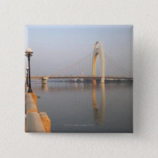 Liede Bridge Over Pearl River 15 Cm Square Badge