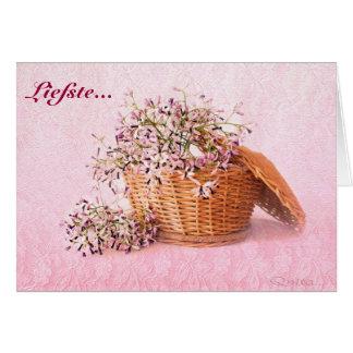 Liefste Groete-Kaartjie Greeting Cards