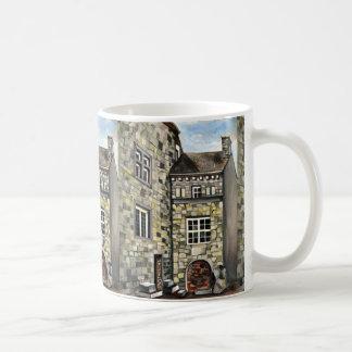 Liege, A Surreal Dreamscape Stone Castle Coffee Mug