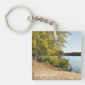 Liepnitzsee Autumn Key Ring