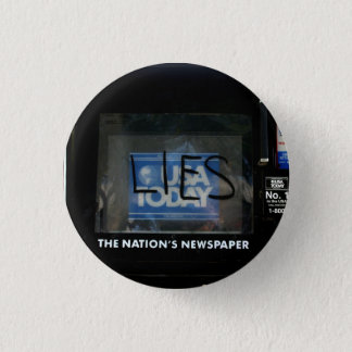 Lies 3 Cm Round Badge