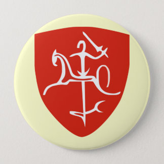 Lietuva 10 Cm Round Badge