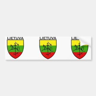 Lietuva, Latvia , latvija symbol Bumper Sticker