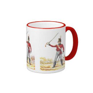 Lieutenant 1815, Royal Regiment of Foot Mug