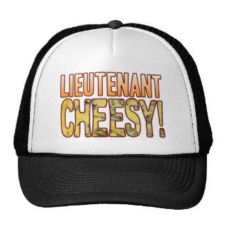 Lieutenant Blue Cheesy Cap
