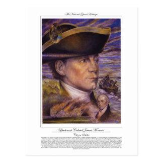 Lieutenant Colonel James Monroe Citizen Soldier Postcard