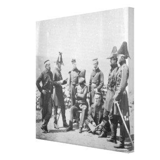 Lieutenant General Sir George Brown G.C.B Canvas Print