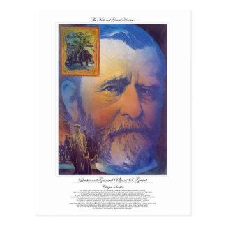 Lieutenant General Ulysses Grant Citizen Soldier Postcard