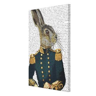 Lieutenant Hare Canvas Print