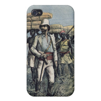 Lieutenant Mizon  on his 1892 Mission iPhone 4 Cover