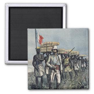 Lieutenant Mizon  on his 1892 Mission Square Magnet