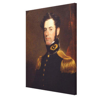 Lieutenant of Engineers Robert E. Lee in 1838 Gallery Wrapped Canvas
