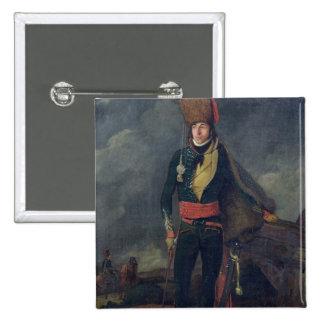 Lieutenant of the 8th Hussars 15 Cm Square Badge