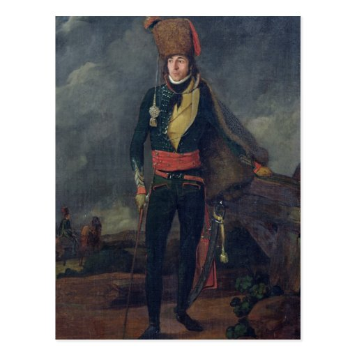Lieutenant of the 8th Hussars Post Card