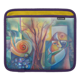 Life 7, Water Stream iPad Sleeve