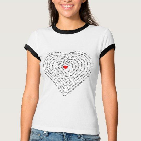 Life According to Cardio Coach T-Shirt