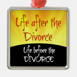 Life After the Divorce Christmas Ornament