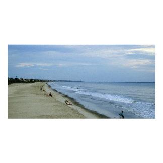 Life Along The Beach Photo Card
