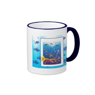 Life Along the Reef Ringer Mug
