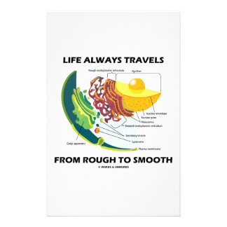 Life Always Travels From Rough To Smooth Personalised Stationery