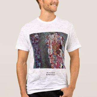 Life And Death By Klimt Gustav T-Shirt