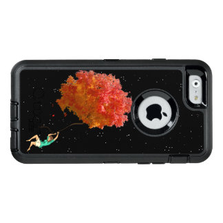 LIFE, AUTUMN FLOATING LEAVES by Slipperywindow OtterBox iPhone 6/6s Case