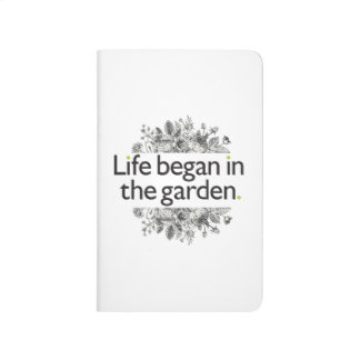 Life Began in the Garden Journal