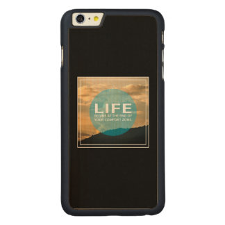 Life Begins Carved® Maple iPhone 6 Plus Case