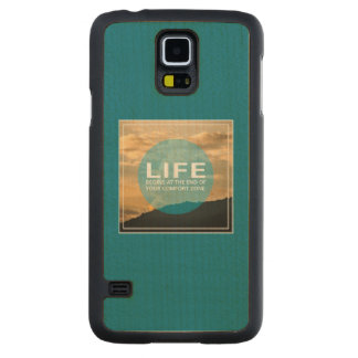 Life Begins Maple Galaxy S5 Case