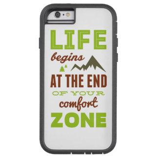 Life begins!Vintage Inspirational Design Tough Xtreme iPhone 6 Case