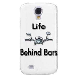 Life Behind Bars black Galaxy S4 Case