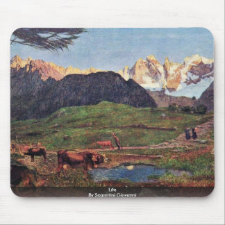 Life By Segantini Giovanni Mouse Pad