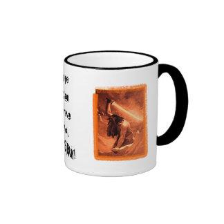Life Can Drive You Berserk! Ringer Coffee Mug