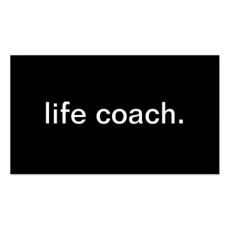 Life Coach Business Card Template