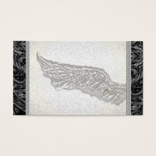 Life Coach Spiritual Angel Wing business cards