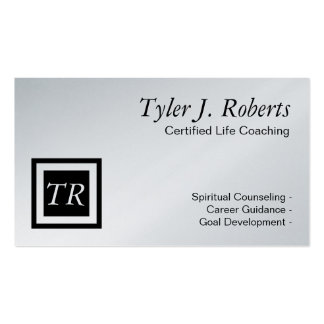 Life Coach Spiritual Counseling Career Guidance Business Card