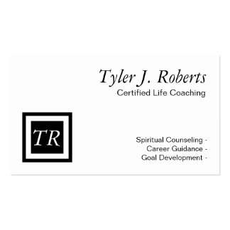 Life Coach Spiritual Counseling Career Guidance Business Cards