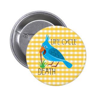 Life Cycle 6 Cm Round Badge
