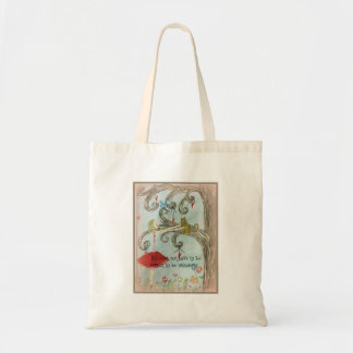 Life does not have to be perfect tote bag