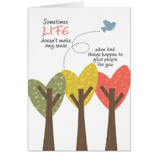 LIFE doesn't make any sense Card