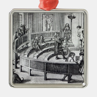 Life drawing class, 1739 Silver-Colored square decoration