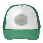 Life Flow Flower of Life Design Cap