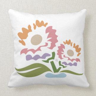 Life - Flowers Throw Pillow