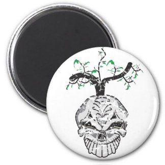 Life From Death 6 Cm Round Magnet
