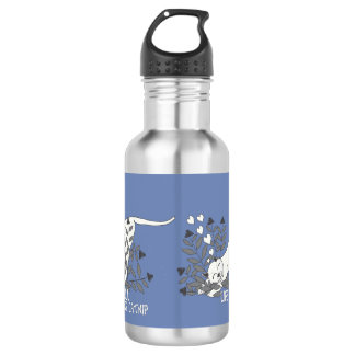 Life Full of Catnip Black and White 532 Ml Water Bottle