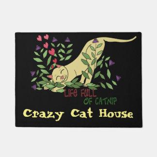 Life Full of Catnip Doormat