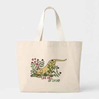 Life Full of Catnip Tote