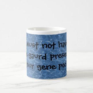 Life gaurd... coffee mug